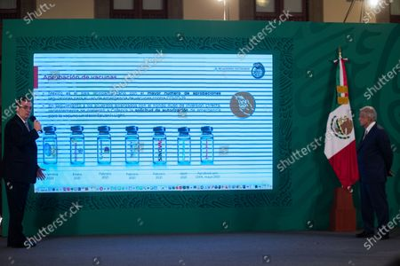 Editorial image of Mexican President daily press conference, Mexico City - 11 May 2021