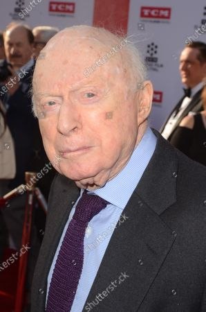 **FILE PHOTO** Norman Lloyd Had Passed Away.LOS ANGELES, CA - APRIL 28: Norman Lloyd at the screening of 'All The President's Men' during the TCM Classic Film Festival 2016 Opening Night on April 28, 2016 in Los Angeles, California. Credit: David Edwards/MediaPunch