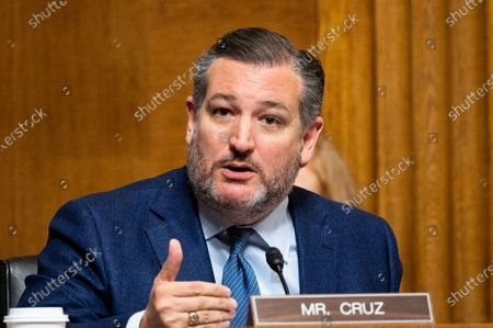 U.S. Senator Ted Cruz (R-TX) speaks at a hearing on ghost guns held by the Senate Judiciary Committee Subcommittee on the Constitution.