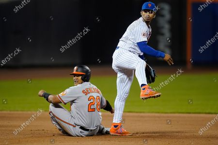 Editorial image of Orioles Mets Baseball, New York, United States - 11 May 2021