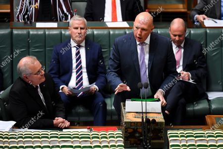Editorial picture of House of Representatives Question Time, Canberra, Australia - 12 May 2021