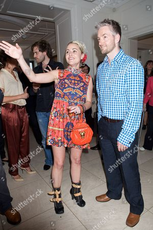 Jaime Winstone and Mitch Griffiths (artist)