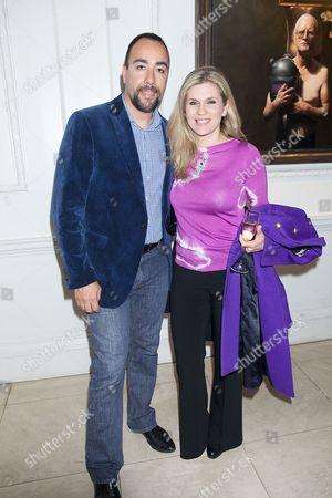 Lorenzo Quinn (artist and sculptor) and Giovanna Quinn