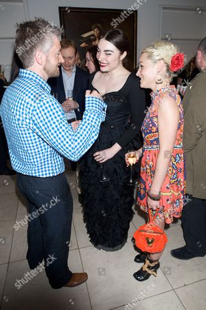 Mitch Griffiths (artist), Lois Winstone and Jaime Winstone