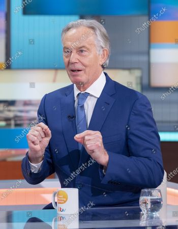 Editorial picture of 'Good Morning Britain' TV Show, London, UK - 12 May 2021