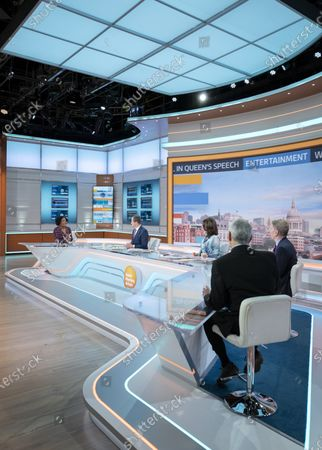 Editorial photo of 'Good Morning Britain' TV Show, London, UK - 12 May 2021