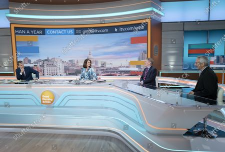 Editorial image of 'Good Morning Britain' TV Show, London, UK - 12 May 2021