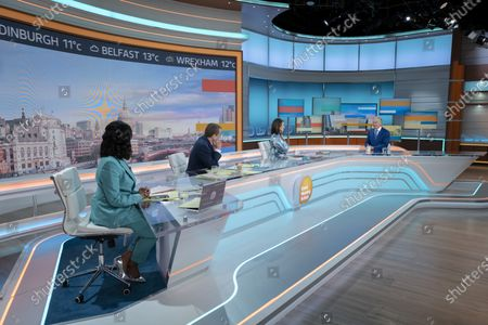 Ranvir Singh, Alastair Campbell, Susanna Reid, Tony Blair