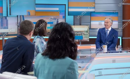 Ranvir Singh, Alastair Campbell, Susanna Reid and Tony Blair