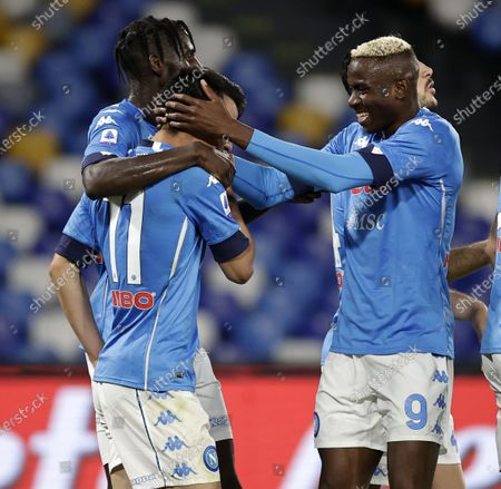 Editorial photo of Italy Naples Football Seire a Napoli vs Udinese - 11 May 2021