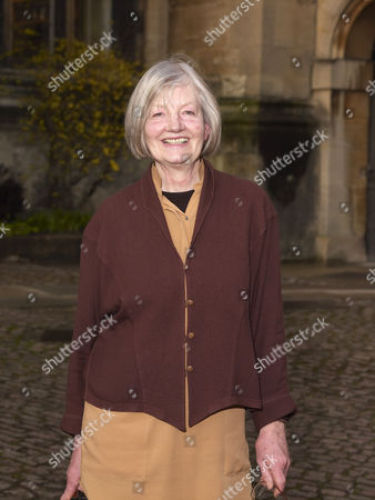 Stock Image of Barbara Trapido at Christchurch College
