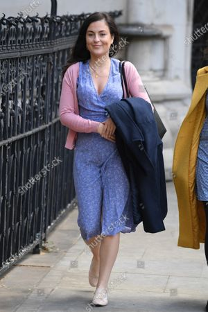 Editorial picture of Rachel Riley at the Royal Courts of Justice, London, UK - 12 May 2021