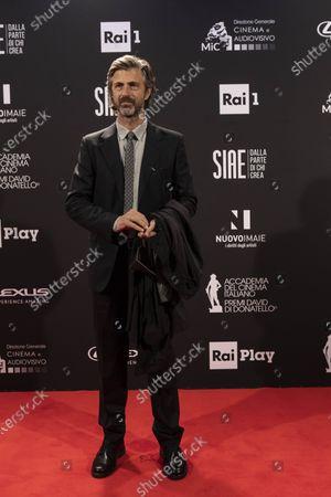 Editorial photo of 66th edition of the David di Donatello Awards, Rome, Italy - 11 May 2021