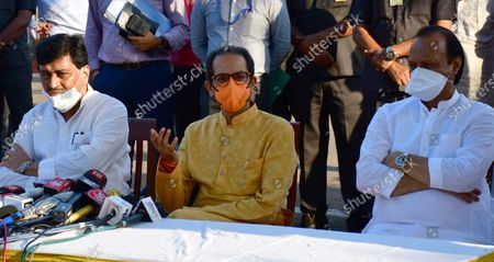 Editorial image of Maharashtra CM Uddhav Thackeray Addresses A Press Conference After Meeting Governor Bhagat Singh Koshyari, Mumbai, India - 11 May 2021