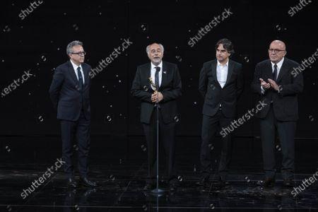Editorial picture of 66th edition of the David di Donatello Awards, Ceremony, Rome, Italy - 11 May 2021