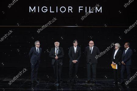 Editorial photo of 66th edition of the David di Donatello Awards, Ceremony, Rome, Italy - 11 May 2021