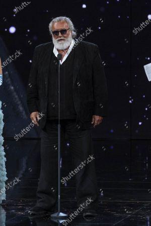 Stock Picture of Diego Abatantuono winner Special David di Donatello prize