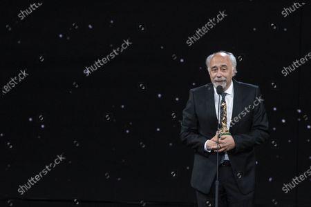 Giorgio Diritti winner David di Donatello Best direction with movie 'Volevo nascondermi'