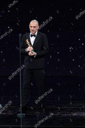 Elio Germano winner David di Donatello Best lead actor with movie 'Volevo nascondermi'