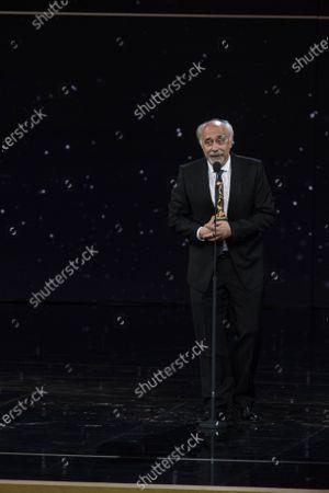 Editorial image of 66th edition of the David di Donatello Awards, Ceremony, Rome, Italy - 11 May 2021