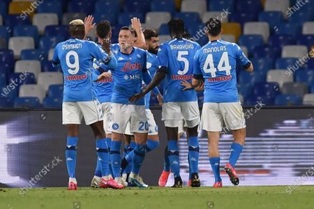 Editorial picture of SSC Napoli v Udinese Calcio - Serie A, Naples, Italy - 11 May 2021