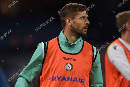Fernando Llorente of Udinese Calcio during the Serie A match between SSC Napoli and Udinese Calcio at Stadio Diego Armando Maradona Naples Italy on 11 May 2021.