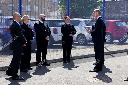 Editorial image of Prince William visits Croydon Custody Centre, Croydon, UK - 12 May 2021
