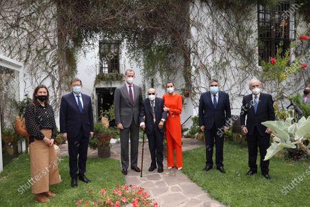King Felipe VI, Queen Letizia attends delivery 'Miguel de Cervantes' Prize for Literature in the Spanish Language 2020 to Francisco Brines