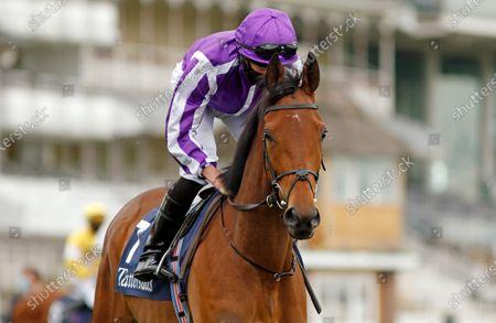 SNOWFALL (Ryan Moore) winner of The Tattersalls Musidora Stakes York