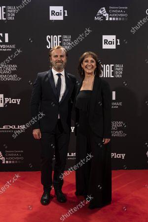Francesco Amato and Angelica Gabrielli