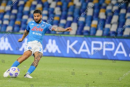 Lorenzo Insigne (Napoli) during the match