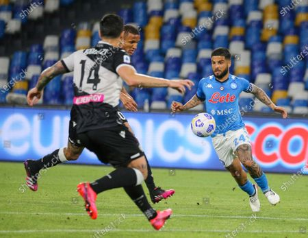 Stock Picture of Lorenzo Insigne (Napoli) during the match