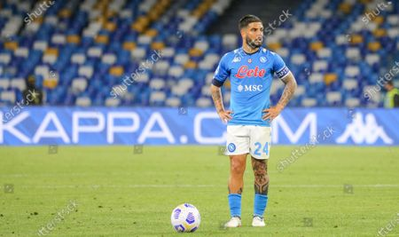 Stock Photo of Lorenzo Insigne (Napoli) during the match