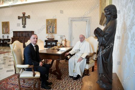 Pope Francis meets with Mr. Heiko Maas, Minister of Foreign Affairs of the Federal Republic of Germany at the Vatican