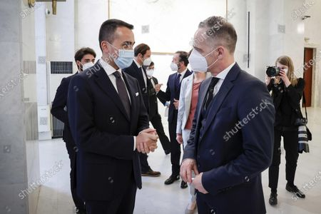 Editorial photo of German Foreign Minister visits Italy, Rome - 12 May 2021
