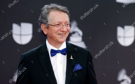 President and CEO of the Latin Academy of Recording Arts & Sciences Gabriel Abaroa Jr. appears at the 20th Latin Grammy Awards in Las Vegas on . Manuel Abud will succeed Abaroa as CEO of the organization effective August 1. Abaroa will become President Emeritus, a senior advisory role that will include working on assigned strategic projects