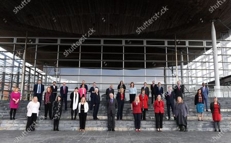 Editorial picture of First Day of Welsh Parliament at the Senedd, Cardiff Bay, UK - 12 May 2021