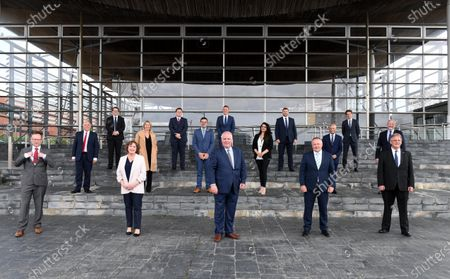 Editorial photo of First Day of Welsh Parliament at the Senedd, Cardiff Bay, UK - 12 May 2021