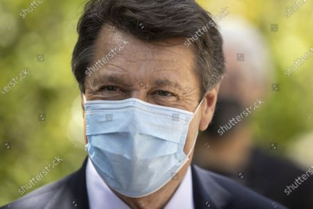Christian Estrosi (Mayor of Nice, President of the Metropolis Nice Cote d'Azur, President Delegate of the Provence-Alpes-Cote d'Azur Region)