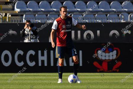 Diego Godin of Cagliari Calcio