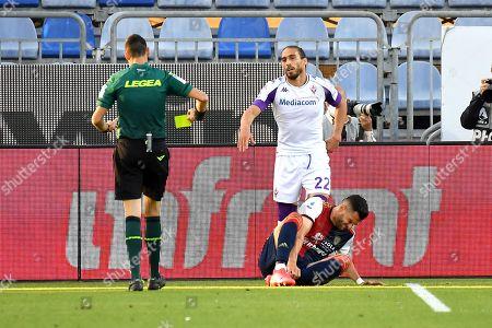 Martin Caceres of Fiorentina