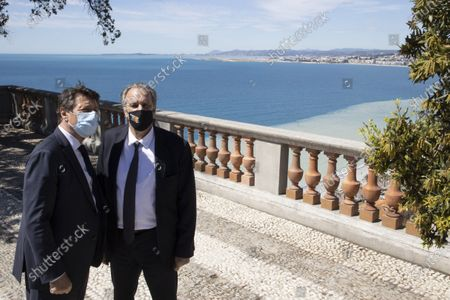 Editorial photo of Renaud Muselier visits Nice, France - 12 May 2021