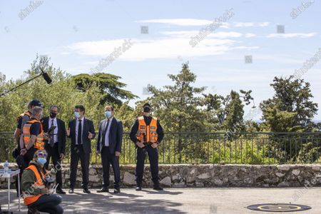 Editorial image of Renaud Muselier visits Nice, France - 12 May 2021