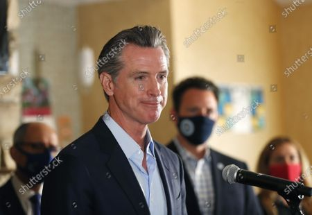 Editorial picture of Gavin Newsom press conference, San Diego, California, USA - 11 May 2021