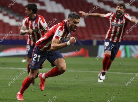 Editorial photo of Atletico de Madrid vs Real Sociedad, Spain - 12 May 2021