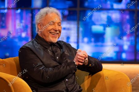 Editorial image of 'The Jonathan Ross Show' TV show, Series 17, Episode 6, London, UK - 15 May 2021