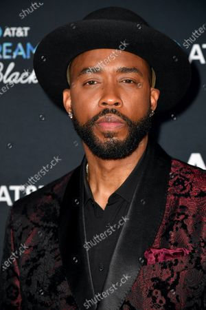 Montell Jordan arrives for the Black Music Honors at the City Winery Nashville on Wednesday May 5, 2021