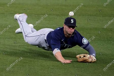 Editorial photo of Mariners Dodgers Baseball, Los Angeles, United States - 12 May 2021
