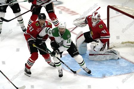 Editorial picture of Stars Blackhawks Hockey, Chicago, United States - 09 May 2021