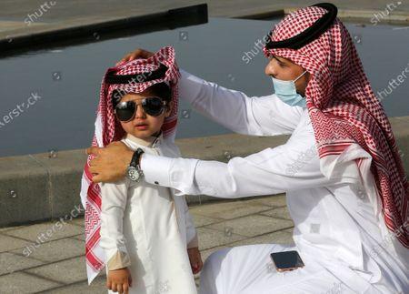 Editorial picture of Eid al-Fitr, Jiddah, Saudi Arabia - 13 May 2021